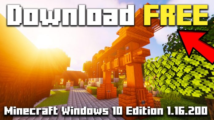 How To Download Minecraft Windows 10 Edition 1.16.200