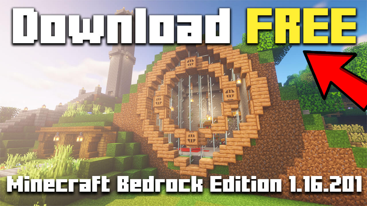 How To Download Minecraft Bedrock Edition for FREE 1.16 ...