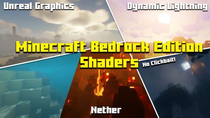 Minecraft Bedrock Edition 1.16.201 Shaders