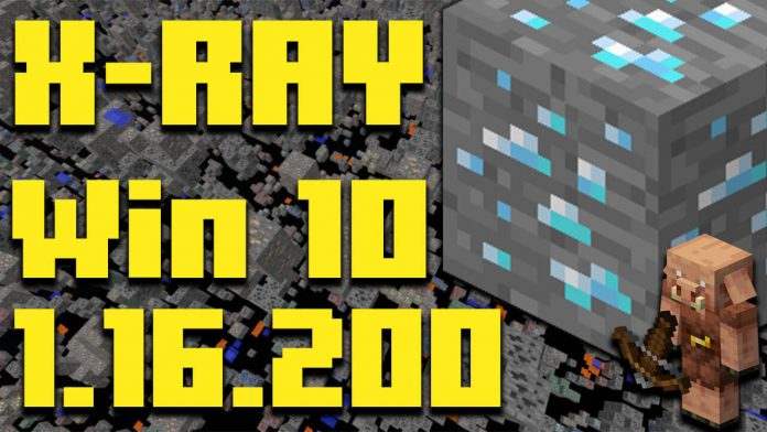 How To Get XRAY Minecraft Windows 10 Edition 1.16.200