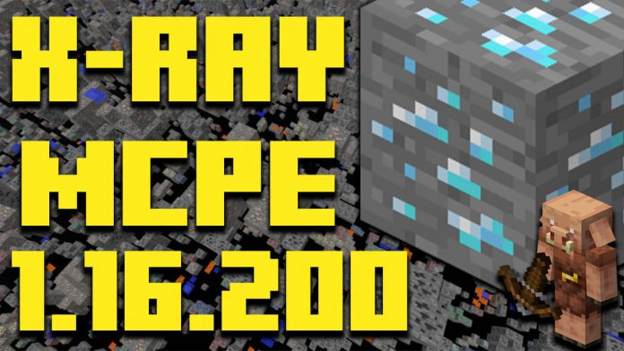 How To Download XRAY in MCPE 1.16.200