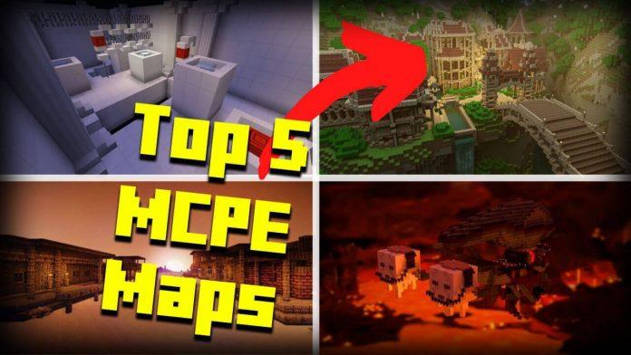 Top 5 MCPE Maps