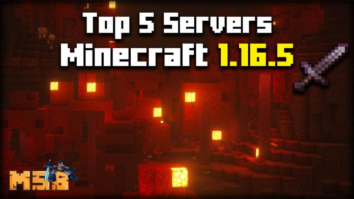Top 5 Servers Minecraft 1.16.5
