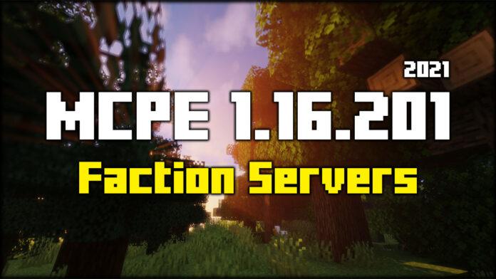 MCPE Faction Servers