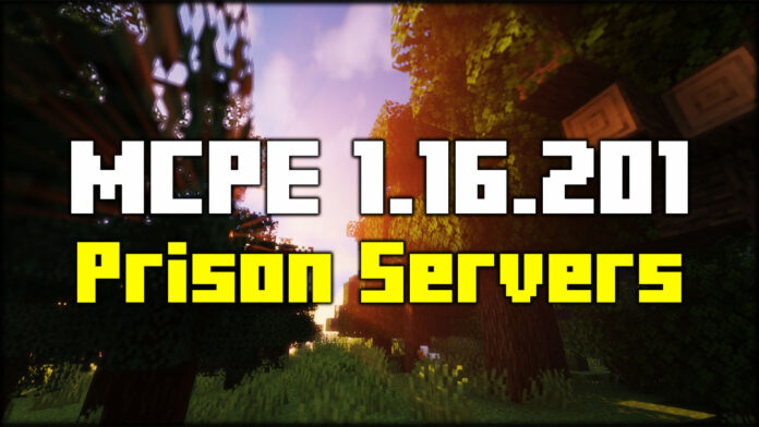 MCPE Prison Servers