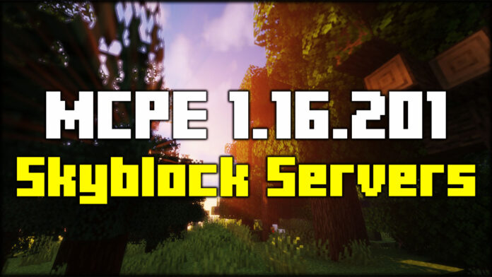 MCPE Skyblock Servers