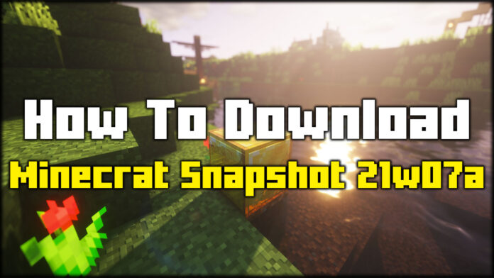 How To Download Minecraft Snapshot 21w07a
