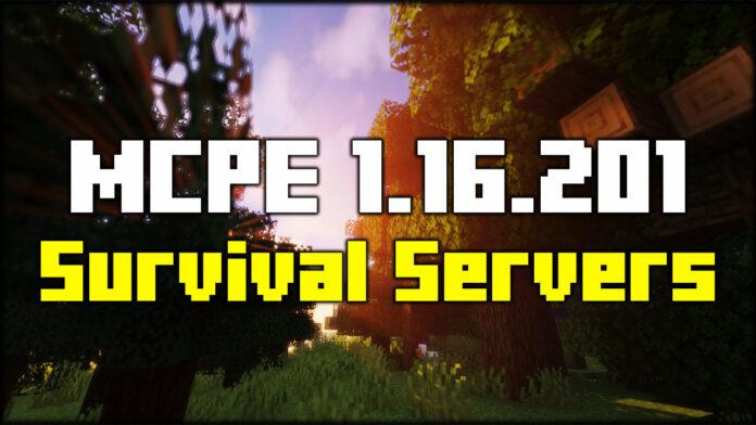 MCPE Survival Servers