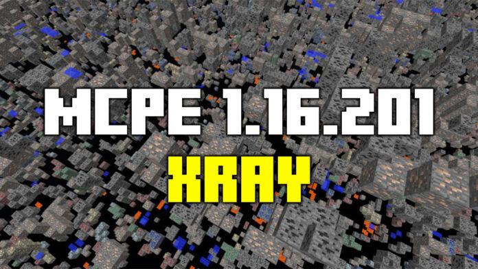 MCPE Xray Texture Pack