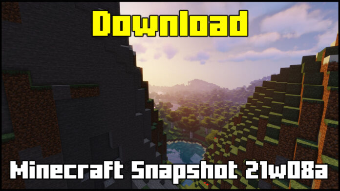 How To Download Minecraft Snapshot 21w08a