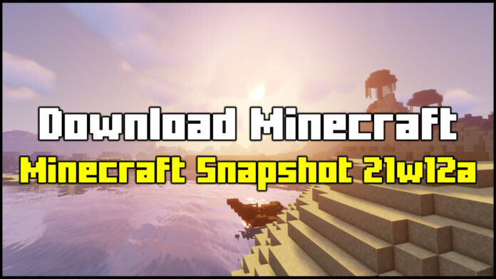 How To Download Minecraft Snapshot 21w12a