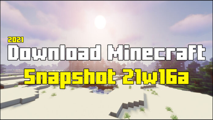 How To Download Snapshot 21w16a