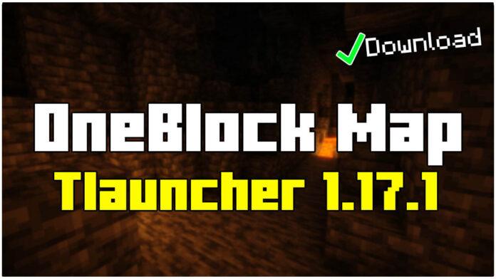 How To Download OneBlock Map in Tlauncher 1.17.1