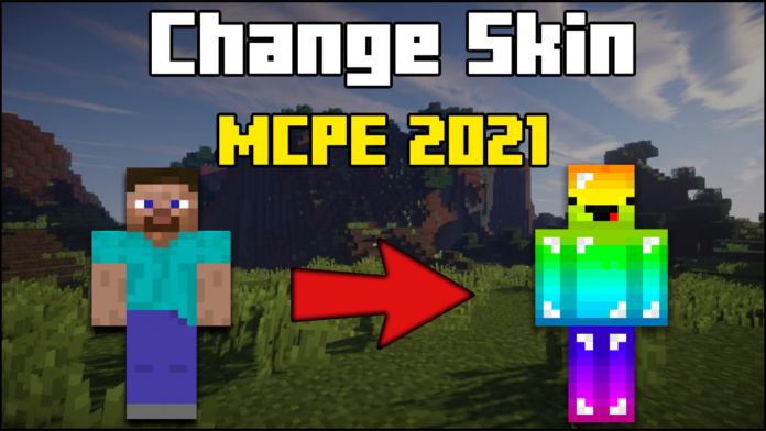 How To Change Your Skin In MCPE