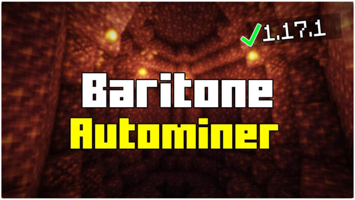 How to Get Baritone AutoMiner in 1.17.1