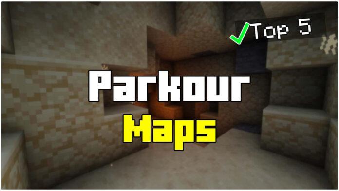 Top 5 Parkour Maps 1.17.1